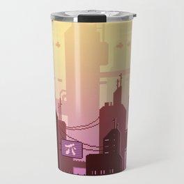 Future skyline Travel Mug