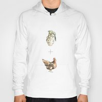 cock Hoodies featuring Blow Cock by Lathan Vargason