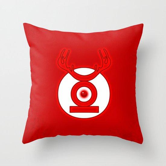 RedLantern Throw Pillow