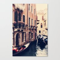 venice Canvas Prints featuring Venice by Ingrid Beddoes