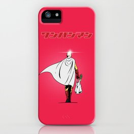 One Punch Man Grocery iPhone Case