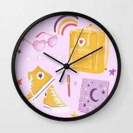 My fav stuff Wall Clock
