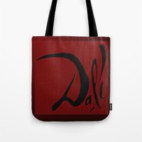 dali Tote Bags featuring Dali by Turul