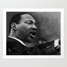 King Jr, Art Print