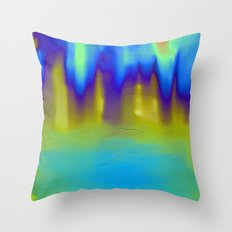 The Mystery Pool Throw Pillow