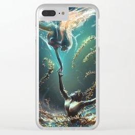 Underwater ballet Clear iPhone Case