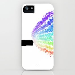 Fight With Love iPhone Case