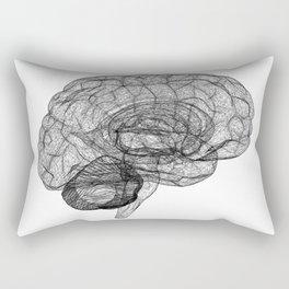 DELAUNAY BRAIN w/b Rectangular Pillow