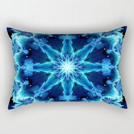 Crystal Light Mandala Rectangular Pillow