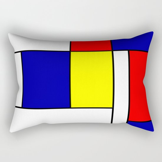 Mondrian #38 by rockettgraphics