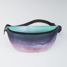Modern watercolor abstract paint Fanny Pack