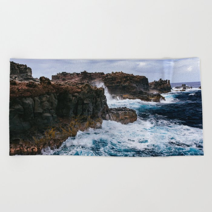 Ocean Power Beach Towel