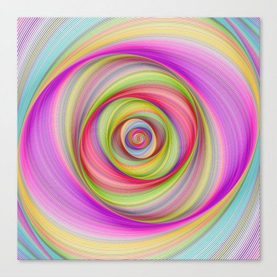 Magnetic storm Canvas Print