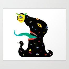 The Jolly Reaper Art Print