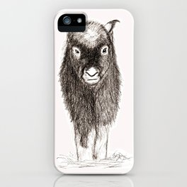 Baby Musk Ox iPhone Case