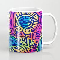 aztec Mugs featuring AZTEC by Acus