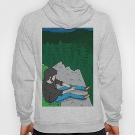 Looking over the mountains Hoody