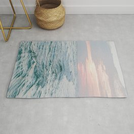summer sunset xiii Rug