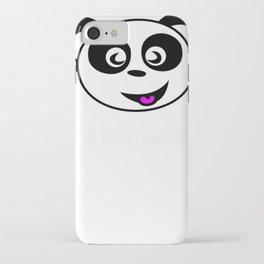 Bear Pand Bear Pandamonium iPhone Case