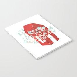 Break Free In Red Notebook