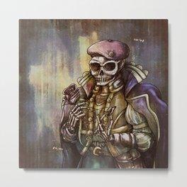 The Artist Metal Print