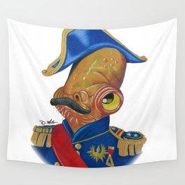 Sir Admiral Ackbar Wall Tapestry