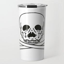 Skull and bones 3 Travel Mug