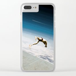 Sky Dive Clear iPhone Case