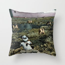 Snappie | Collage Throw Pillow