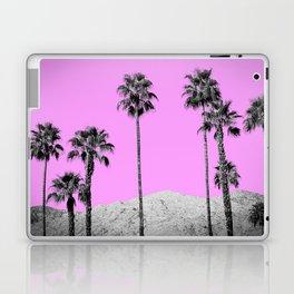 Pink Palm Trees / Desert / Palm Springs Laptop & iPad Skin