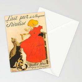 """Théophile Steinlen """"Lait Pur de la Vingeanne Stérilisé"""" Stationery Cards"""