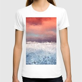 Fragments of a Sunset T-shirt