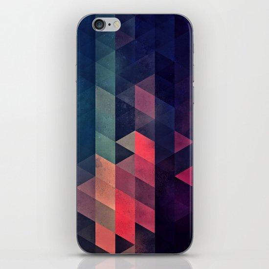 edyfy wyth lyys iPhone & iPod Skin