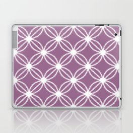 Abstract Circle Dots Purple Laptop & iPad Skin