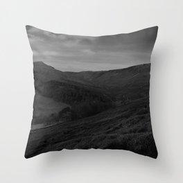 Dark Landscape 4 Throw Pillow