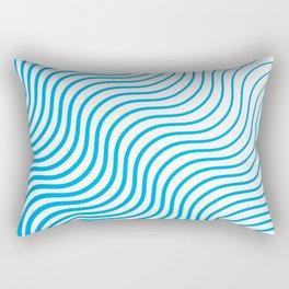 Whiskers Blue #324 Rectangular Pillow