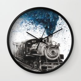 Time Voyager Wall Clock
