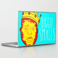 biggie smalls Laptop & iPad Skins featuring Biggie Smalls by Hussein Ibrahim