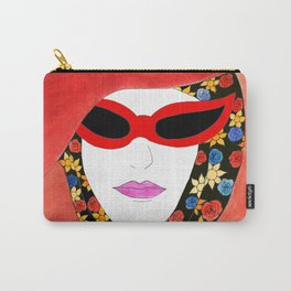 RED SUNGLASSES Carry-All Pouch