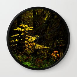The Enchanted Woods Wall Clock