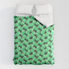 Gelatinous Cube Craze Duvet Cover