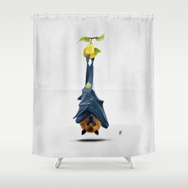 Peared (Wordless) Shower Curtain