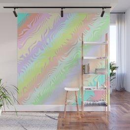 Pastel Rainbow Wall Mural
