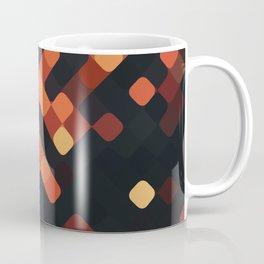 rhombus fantasy night embers Coffee Mug