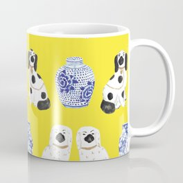 Staffordshire Dogs + Ginger Jars No. 6 Coffee Mug