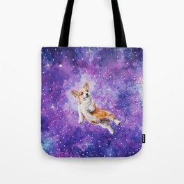 Space Corgi Tote Bag