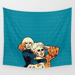 Trixie & Katya Wall Tapestry