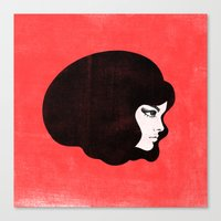 60s Canvas Prints featuring 60s by martiszu