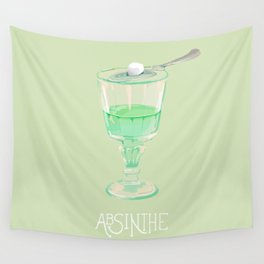 Absinthe Wall Tapestry