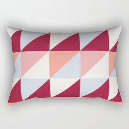 Trio (maroon) Rectangular Pillow
